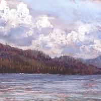 "June on Payette Lake - 8"" x 12"""
