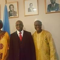 Ambassador TETE Antonio & Hon. Sidique WAI,  Angele Ventugol Onyie - Farewell Celebration