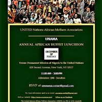 UNAMA African Annual Buffet Luncheon