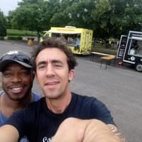 With Phil du Foodtruck O Ti Kreol