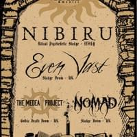 "12-10-2018 Live at ""Star And Garter"" (Manchester), ENGLAND, supporting Nibiru (Italy) + Medea Project"