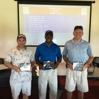 May 2016 Golf Winners Dave Carlson, Lou white, Dave O'Brien, Scott Garth