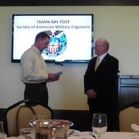 Nov15, 2015 SMA Tilley receives donation to Amer Freedom Foundation