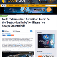 First EGDA article on Toucharcade.com (29/01/16)