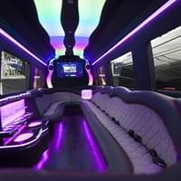 Sprinter 3500 Custom Luxury Limo  Interior