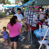 Health fair at MacArthur Park, September 21st, 2015