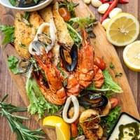 The Seagrill Seafood Platter