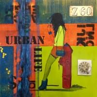 """Urban Life"" 24"" x 24"" on plywood."