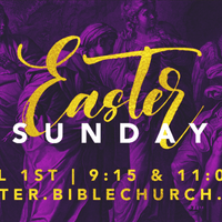 2018 Easter Branding @ Chapel Hill Bible Church