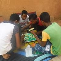 Partie de scrabble.2014©Aboubacar