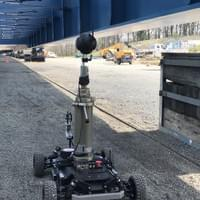 VR360 Shooting with buggy