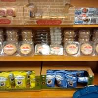 My cookie shelf at Butcher Bill's