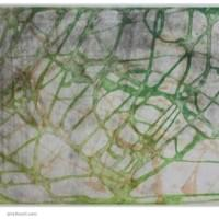 "Green Orange Gray Wandering | 12 "" x 1 5.75"" 