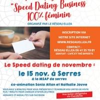 Affiche Speed Dating Ellea