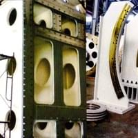 Large structural machined parts