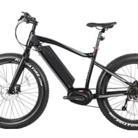 Fat e-bike with Bafang Max Motor, mid motor, center motor.