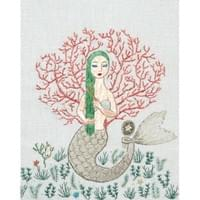 A mermaid with green hair / 緑の髪の人魚