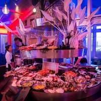 Lobster buffet, X-mas party, Hotel Arena