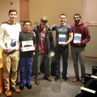 Winning Team at DragonHacks 2016 Hackathon