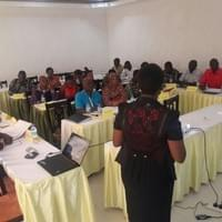 Jaqueline trains Local Government Authorities on    Child Rights and Trafficking