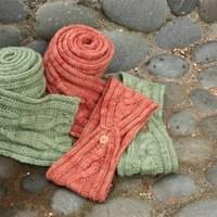 Cycle Trail Scarf and Headband Patterns