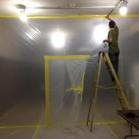 Securing the three-stage clean rooms for the Chicago Museum of Holography rescue project