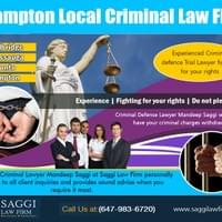 Top Reasons to Hire Brampton Local Criminal Lawyer for Your Case At http://saggilawfirm.com/criminal-law/  Find Us: https://goo.gl/maps/vGDMHa1w6r32  Deals in .....  Criminal Defense Lawyer In Mississauga Brampton Local Criminal Lawyer Legal Aid Criminal Lawyer Brampton Mississauga Local Criminal Lawyer Lawyer In Brampton Free Consultation  Hiring a Brampton Local Criminal Lawyer will ensure your case is managed at every step. A good lawyer will work to protect your interests and rights as well keeping you up to date and informed on how your case is progressing. They should also inform you from the outset about the nature of the charges against you, potential penalties if convicted and any further impact these charges may have in the future.  Mandeep Saggi attends Court in all of the cities below. Saggi Law Firm is located At 2250 Bovaird Drive E., Suite #206 Brampton, ON, L6R 0W3  Available 24 hrs CALL: 647-983-6720  Social---  https://del.icio.us/bramptonlawyers https://www.yelp.com/biz/saggi-law-firm-brampton https://www.instagram.com/bailhearingcanada/ https://www.reddit.com/user/bestcriminallawyerne/