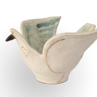 """Dove"" Ceramic Bowl by Bruno Gambone"