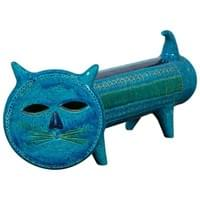« Rimini Blue » Bitossi Ceramic Cat