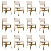 Set of 12 Gio Ponti walnut chairs, model 687, for Cassina, Italy, circa 1950.