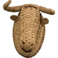 "Large "" Toro"" head in ""half"", Spain, circa 1960"