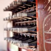 Hand Made wine Rack ~ Photo Credit: Amare Images