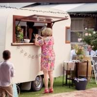 Charlie & Collette Vintage Caravan Bar ~ Photo Credit: Amare Images
