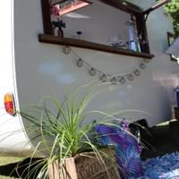 Backyard BBQ with Charlie & Collette Vintage Caravan Bar
