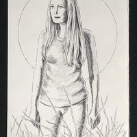 Sally (Marilyn Burns of TCM Tribute -- Fan Art)