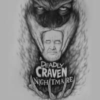 Deadly Craven Nightmare Pencil Drawing 2016