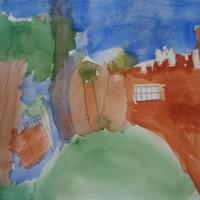 Watercolours of Astley Castle Project