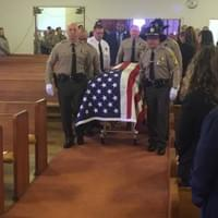 I was honored to serve at Deputy Garry Claypool's funeral.