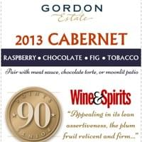 Shelf Talker for 2013 GE Cabernet - Point of Sale for retail shelves