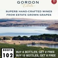 Full page conference ad for Gordon Estate Winery