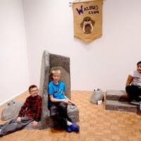 Mary Nohl and the Walrus Club, 5 Benches, John Michael Kohler Arts Center, Sheboygan, 2018