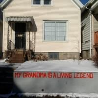 My Grandma is a Living Legend - final installation, 2017