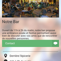 Page Notre bar