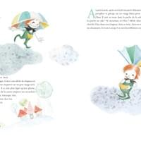 The wonderful travel of the umbrella imp (children book)
