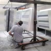 HVP Powdercoating Application