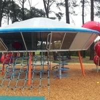 JMC Powdercoated the UFO Playground in