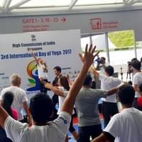 Laughter Yoga for International Day of Yoga 2017