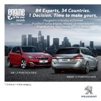 Marketing Collateral and Copy for Peugeot