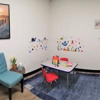 Under the sea therapy themed room
