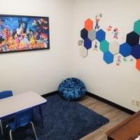 Disney themed therapy room